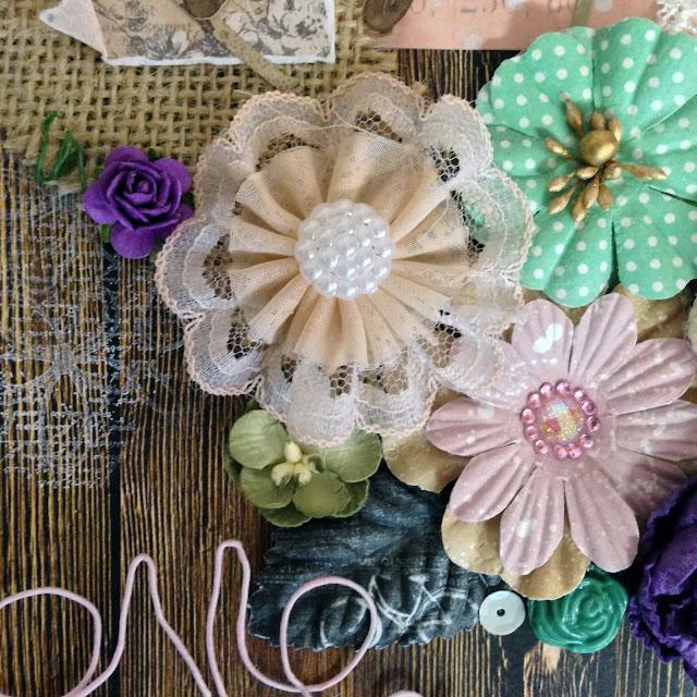 An Engagement | A Scrapbook Layout by Alice Scraps Wonderland