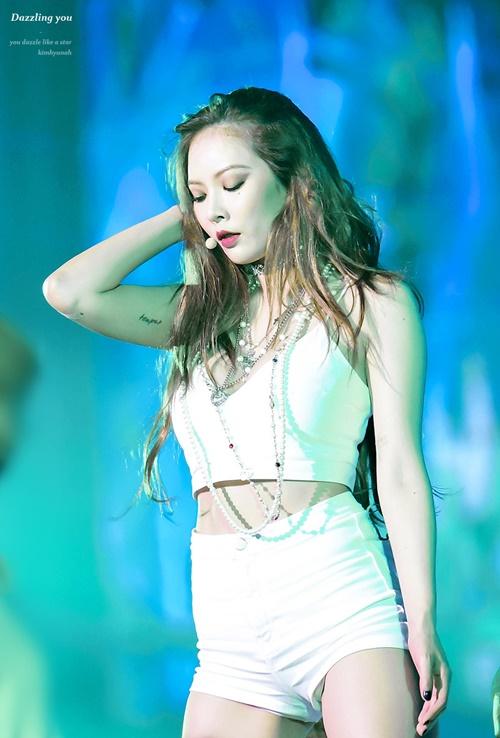 PHOTO Hyuna na 2016 SBS Gayo Daejun ~ HYUNA POLAND