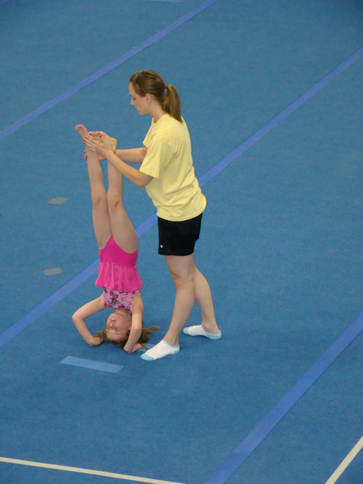 The Right Perspective: Gymnastics