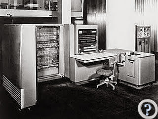 Computer from the past.