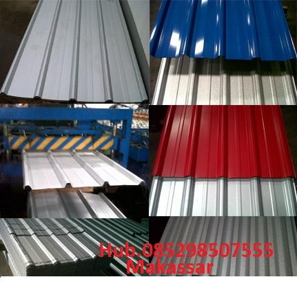SUPPLIER BAJA RINGAN ATAP MAXI GUTTA SPANDEK SCREW HOLLOW