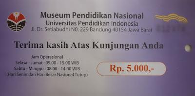 harga tiket masuk ke museum upi bandung