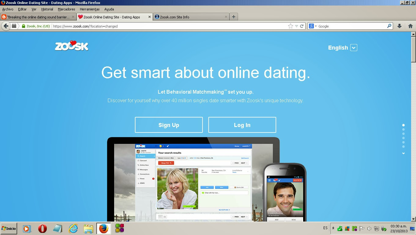 Online dating sites zoosk