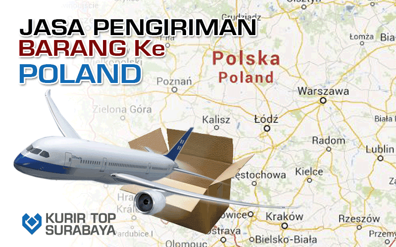 JASA PENGIRIMAN LUAR NEGERI   KE POLANDIA