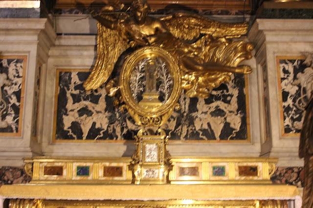 Reliquias de San Francisco Javier en Roma