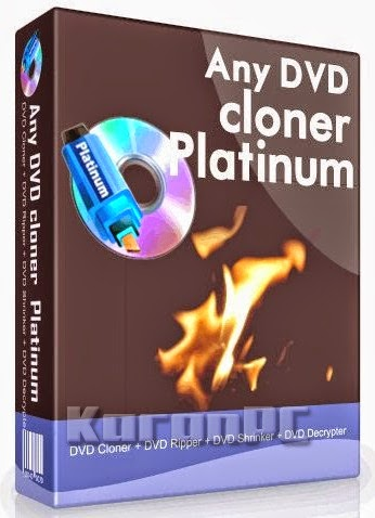 Any DVD Cloner Platinum 1.3.2 + Crack
