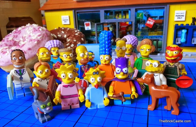 The Simpsons LEGO Minifigures Series 2 minifig characters collection