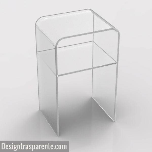 Comodino moderno trasparente ON LINE