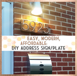 Sew at Home Mummy Midcentury Modern House Numbers Tutorial