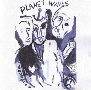 Portada de 'Planet Waves', realizada por Bob Dylan