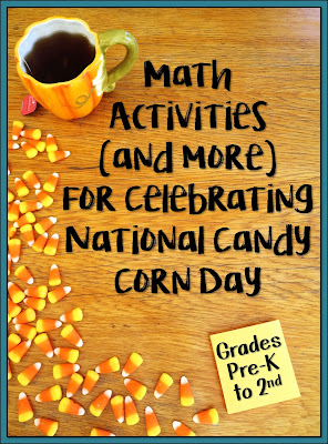 How to Celebrate National Candy Corn Day with Math- Check out this collection of activities including a freebie!