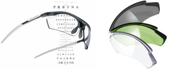 Rudy 配高彎度水銀度數太陽眼鏡或全視線鏡片