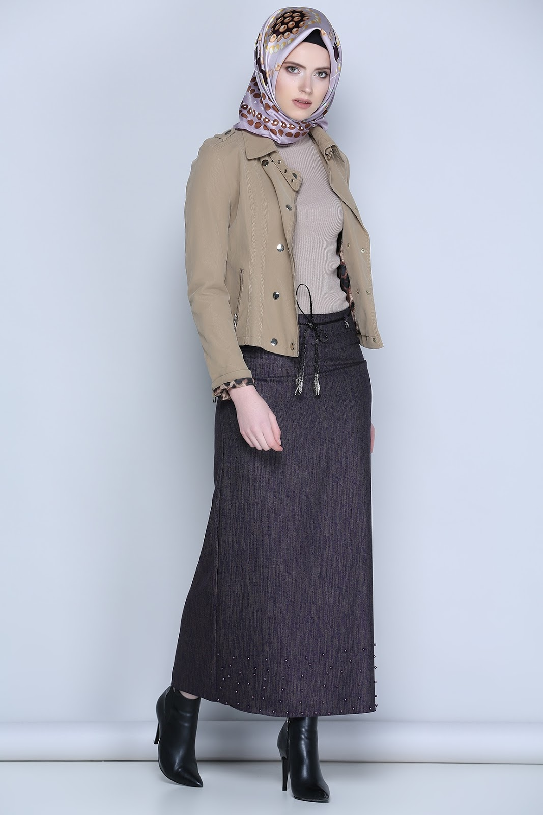 Hijab Chic Style Hiver Avec Robe Hijab Fashion And Chic Style