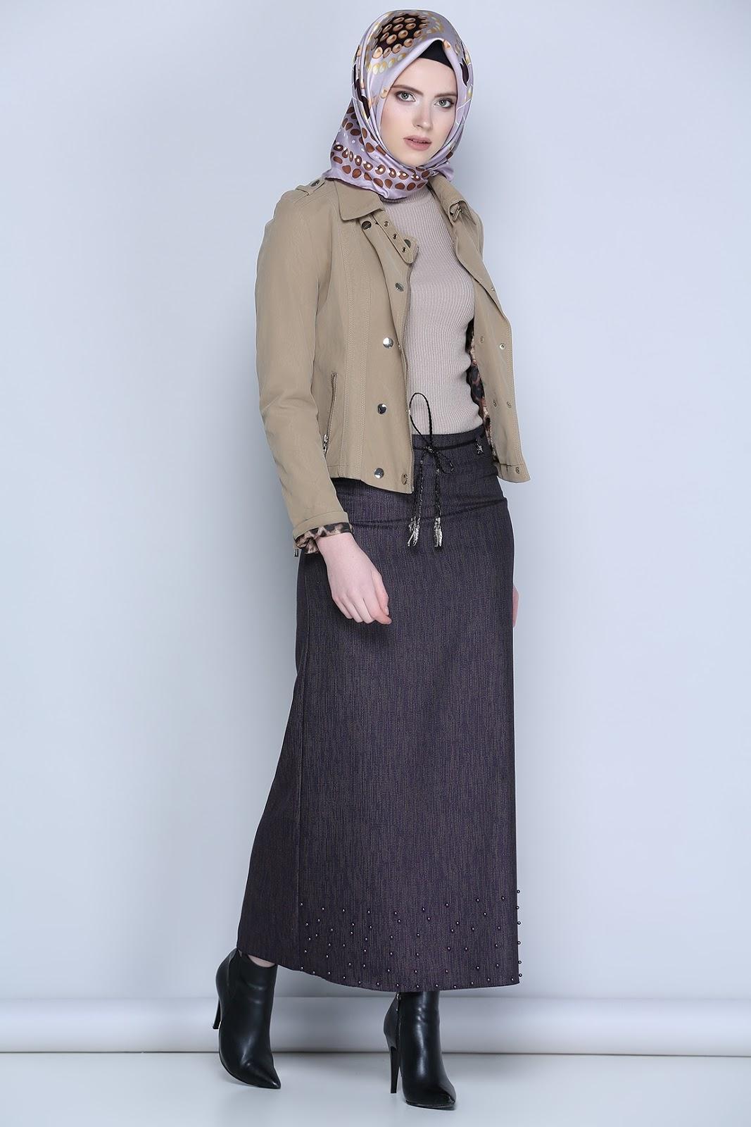 Hijab Chic Style Hiver Avec Robe Hijab Fashion And Chic