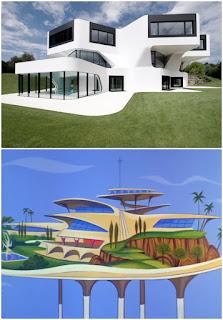 Casa Dupli J. Mayer versus casa Jetsons