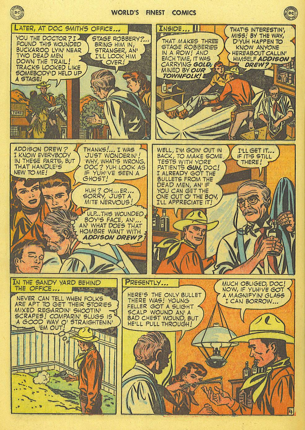 Read online World's Finest Comics comic -  Issue #49 - 43