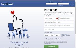 Cara Membuat Akun Facebook Terbaru Tanpa Email