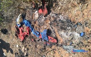 Jovem encontrado morto com o corpo carbonizado na zona rural de Assu estava trajando a fantasia do homem Aranha