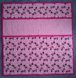 ProsperityStuff Pink Personalized Baby Name Quilt for Sale