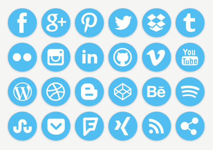 Grow Your Blog Quickly, social media icons, blog, grow blog