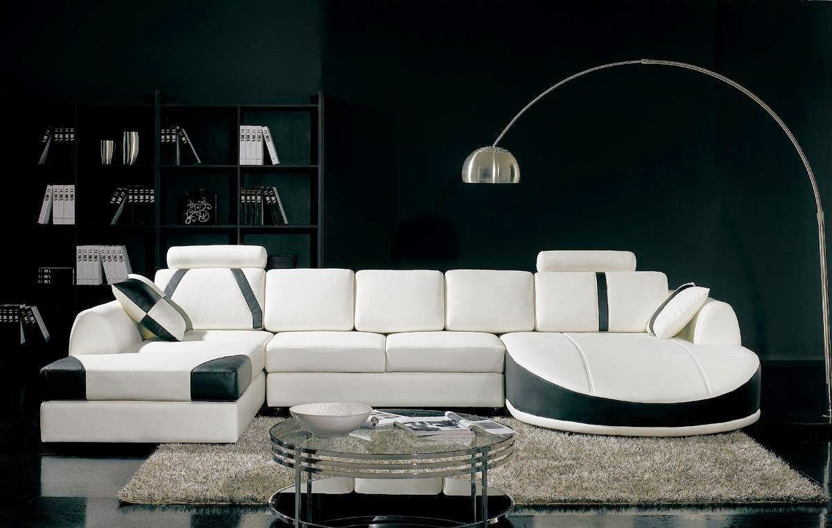 Modern White Couch black couch: black and white couch