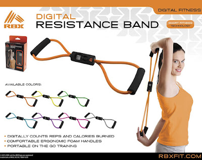 RBX Fitness Digital Resistance Band  #Rbx