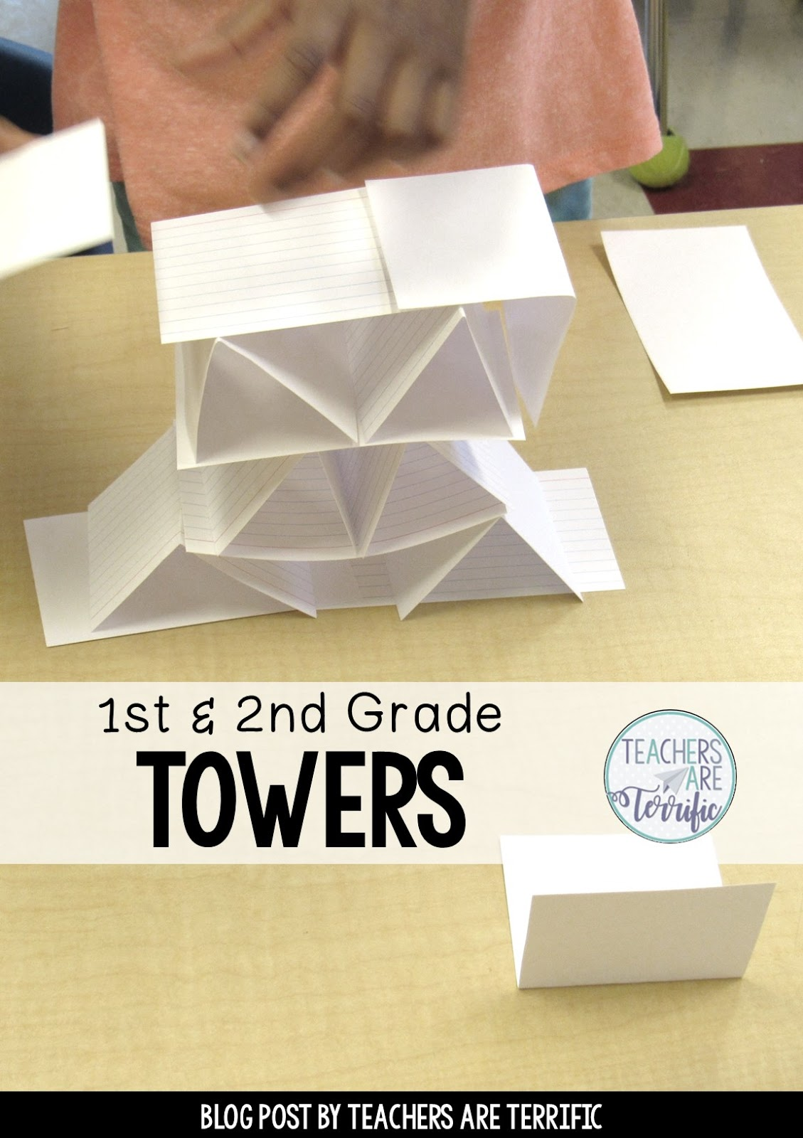 A Fascinating Book Inspires Tower Building Teachers Are Terrific