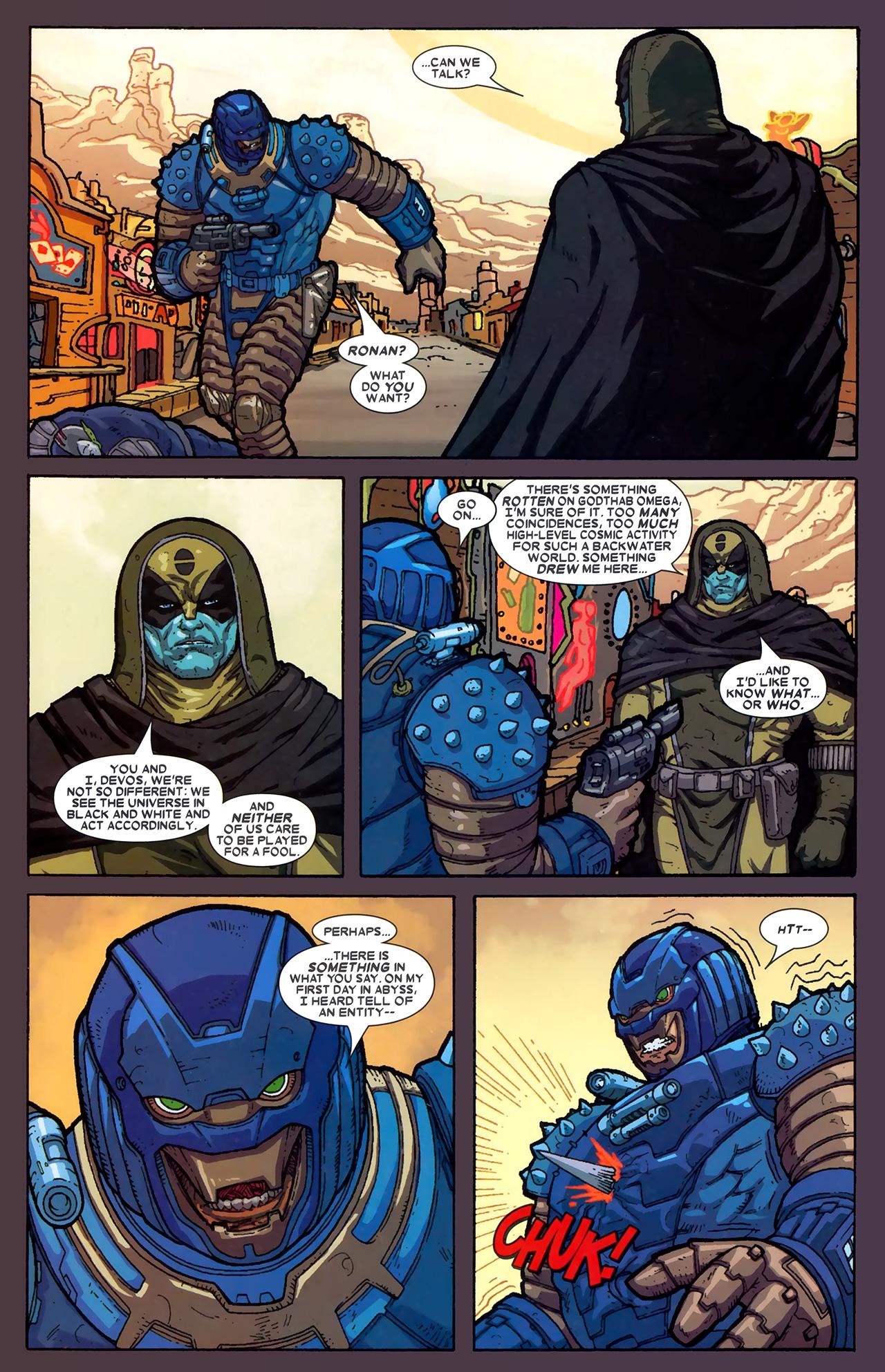 Read online Annihilation: Ronan comic -  Issue #2 - 22