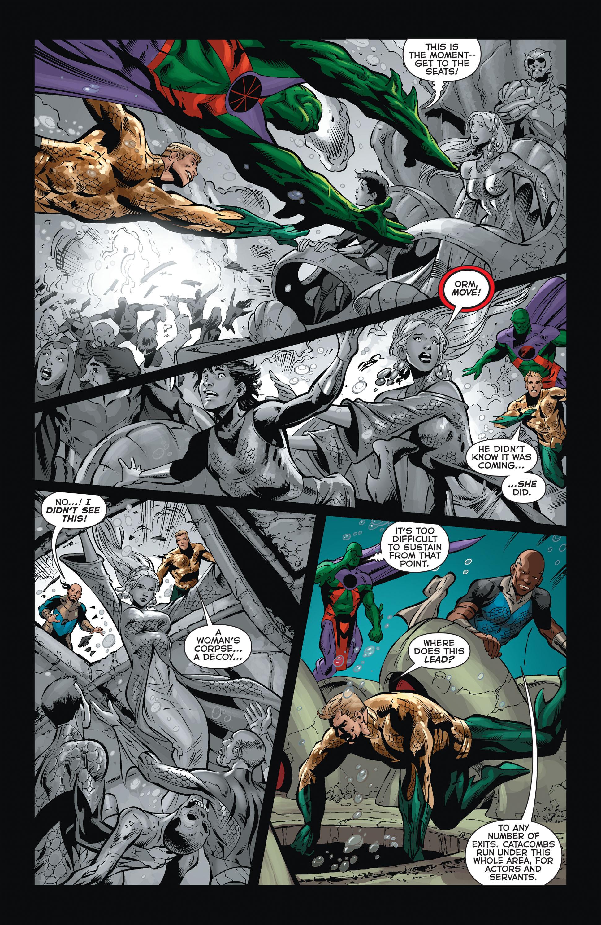 Read online Aquaman (2011) comic -  Issue #36 - 11