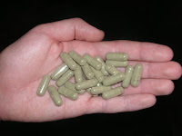Pills of kratom