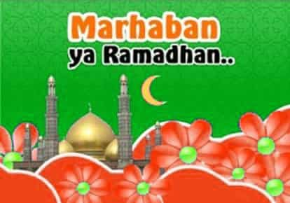 Persiapan menyambut bulan suci ramadhan