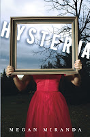 book cover of Hysteria by Megan Miranda published by Bloomsbury Walker Books