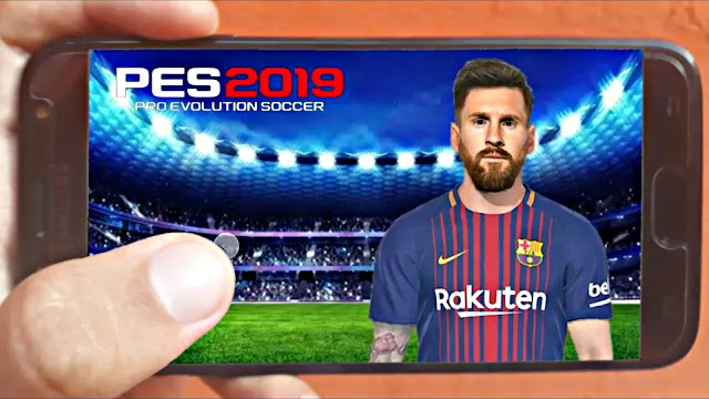 Finally PES 2019 Android Offline New Kits Graphics HD