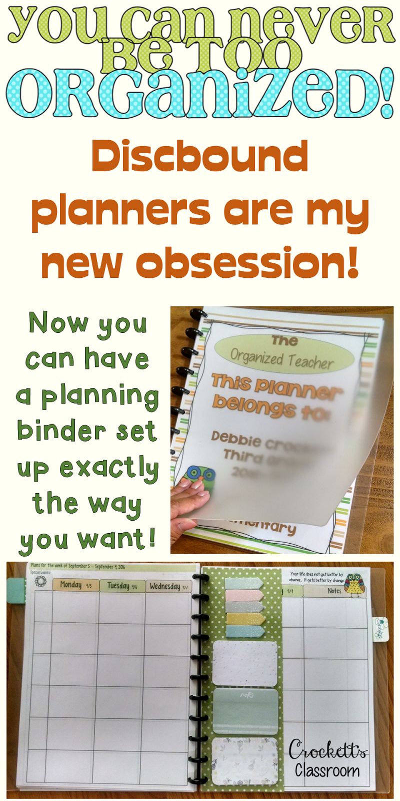 uo forever templates - teacher planner my new obsession crockett 39 s classroom