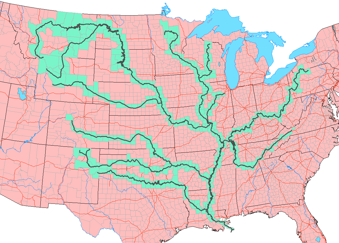 sediment supply and the importance of big rivers