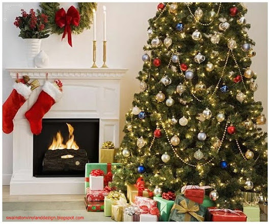 Themed Christmas Tree Home Decoration Picture - Tips and Ideas - Interior Design and Decorating Articles
