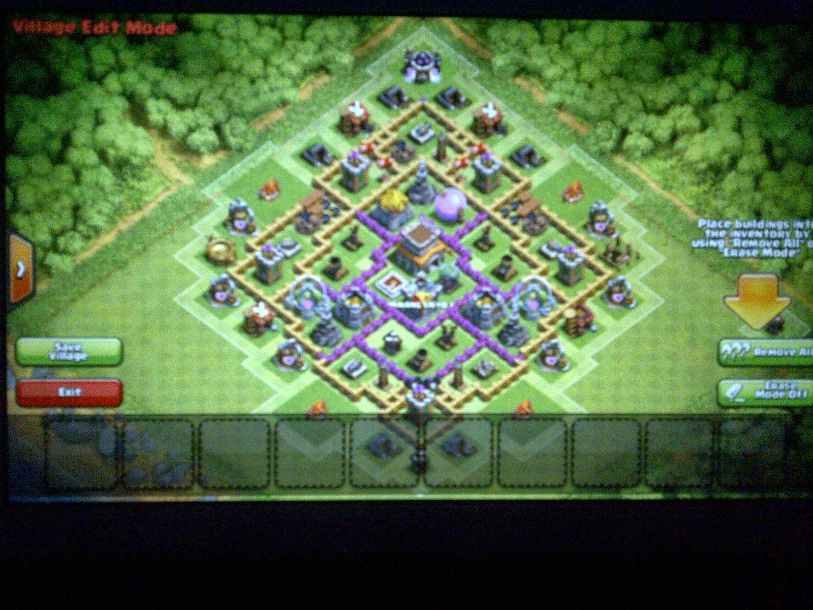village base clash of clans