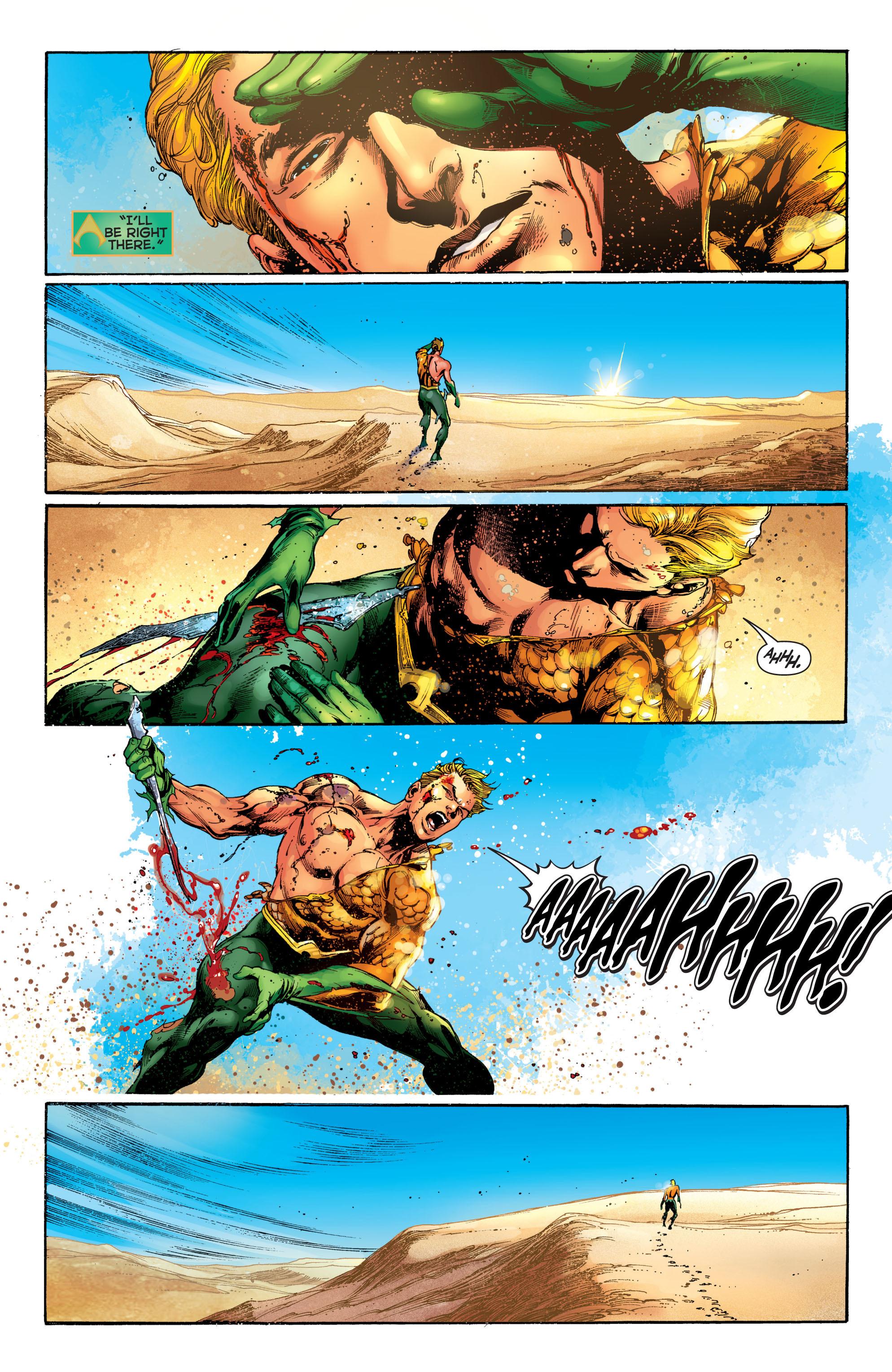 Read online Aquaman (2011) comic -  Issue #5 - 8
