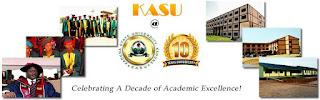 KASU Matriculation Ceremony & 10th Anniversary Ceremony Date - 2017/2018