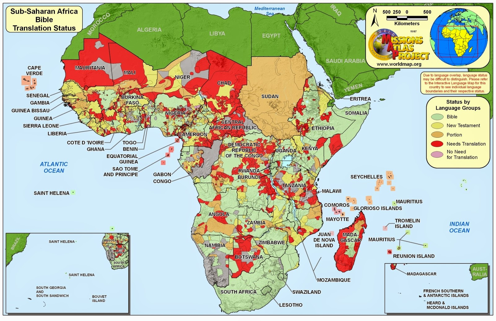 What In The World The Changing Face Of Africa
