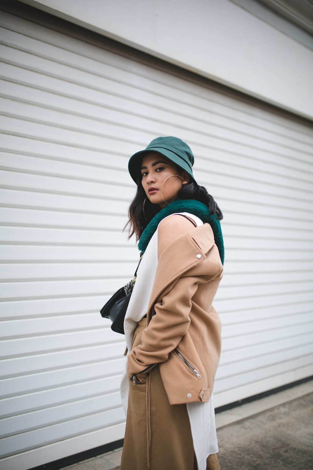 Macau Fashion Blogger wearing Layers of Neutrals