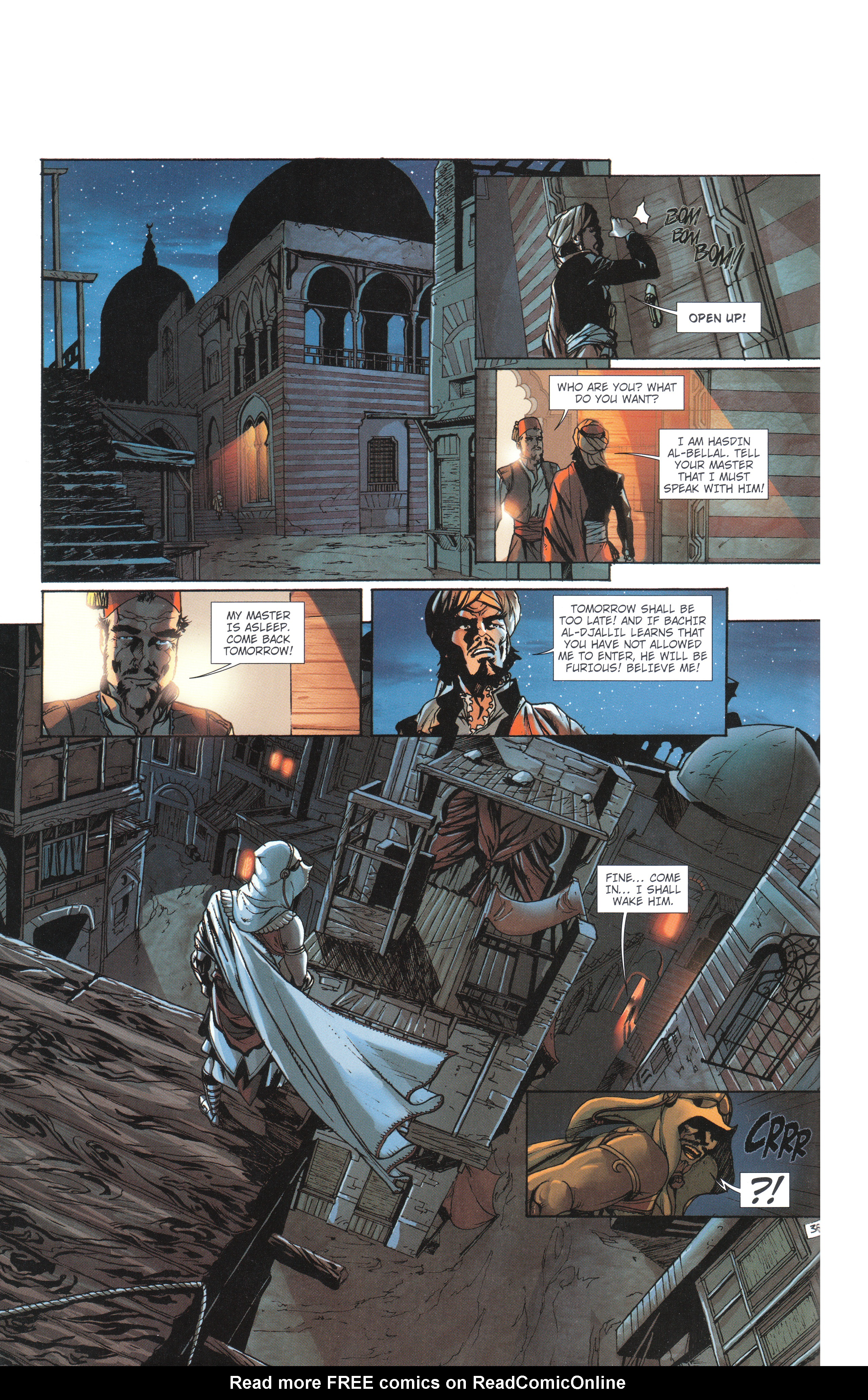 Read online Assassin's Creed (2012) comic -  Issue #4 - 38