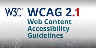Icono W3C y WCAG 2.1