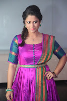 Shilpa Chakravarthy in Purple tight Ethnic Dress ~  Exclusive Celebrities Galleries 056.JPG