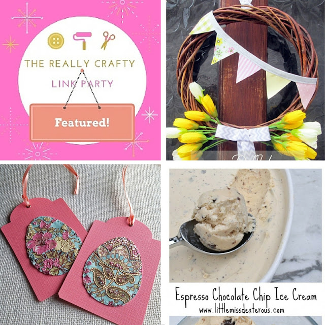 the really crafty link party featured posts