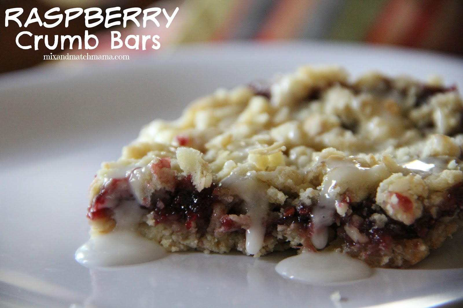 Mix and Match Mama: Bar #73: Raspberry Crumb