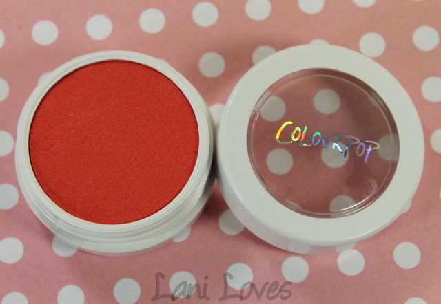 ColourPop Super Shock Cheek - Jelly Fish Swatches & Review