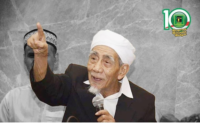 Diberitahukan Kepada Santri dan Alumni, KH Maimoen Zubair Memilih Bapak Jokowi