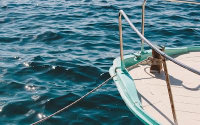 yacht in sea widescreen hd wallpaper