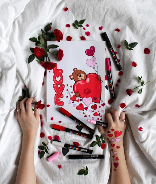 Valentines day OszlánszkiART